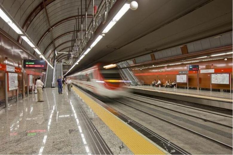 Cortes en las líneas C-1, C-2, C-7, C-8 y C-10 de RENFE Cercanías Madrid entre Nuevos Ministerios y Chamartín por obras de refuerzo del túnel de Recoletos