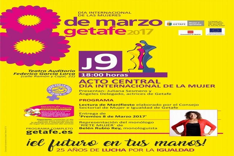 Getafe reivindica la igualdad con multitud de acciones para conmemorar el Día Internacional de las Mujeres
