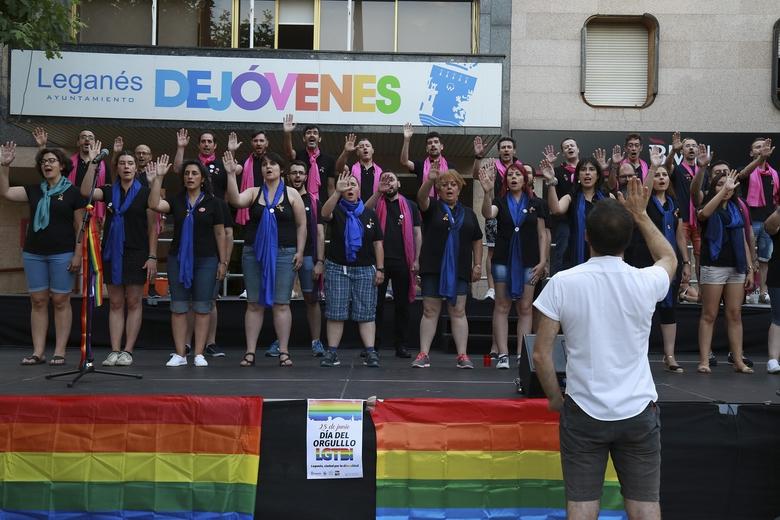 Leganés ratifica su compromiso en defensa de los derechos de las personas LGTBI