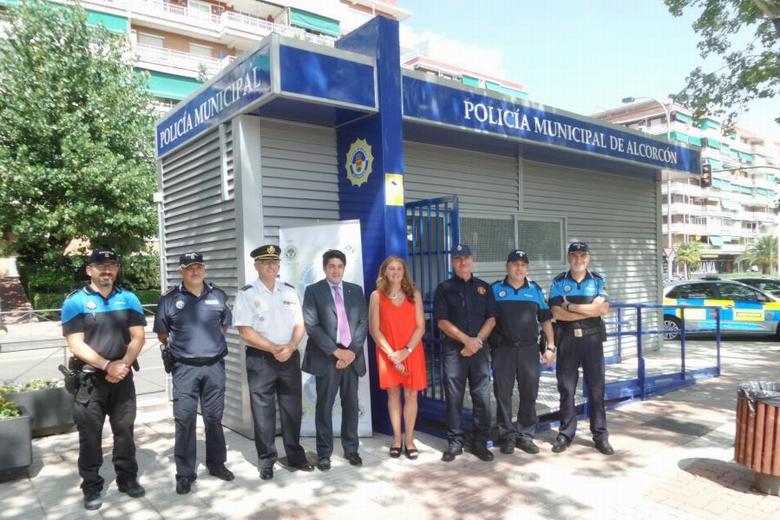 La polic a local de alcorc n estrena nueva oficina de for Oficina trafico alcorcon