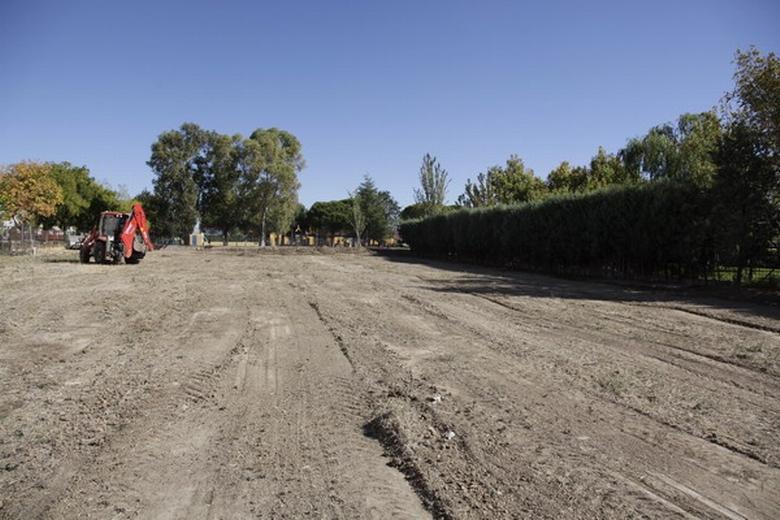 Getafe está llevando a cabo las obras de adecuación para la creación de 41 huertos urbanos