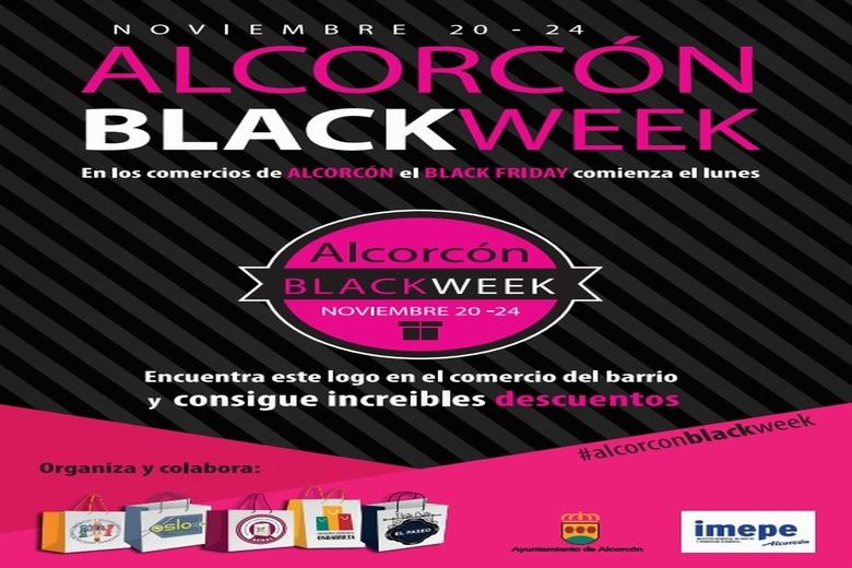 Los comercios de Alcorcón lanzan desde el lunes la campaña Black Week para adelantarse al Black Friday