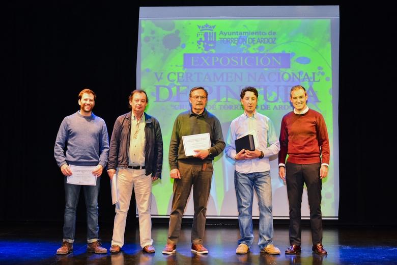 Entregados los premios del V Certamen Nacional de Pintura de Torrejón
