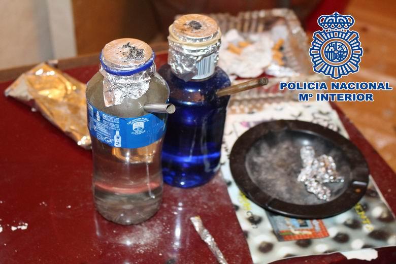 La Policía Nacional desarticula un grupo organizado dedicado al tráfico de drogas a pequeña escala en Vallecas