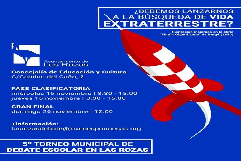 Arranca el Torneo Municipal de Debate Escolar de Las Rozas