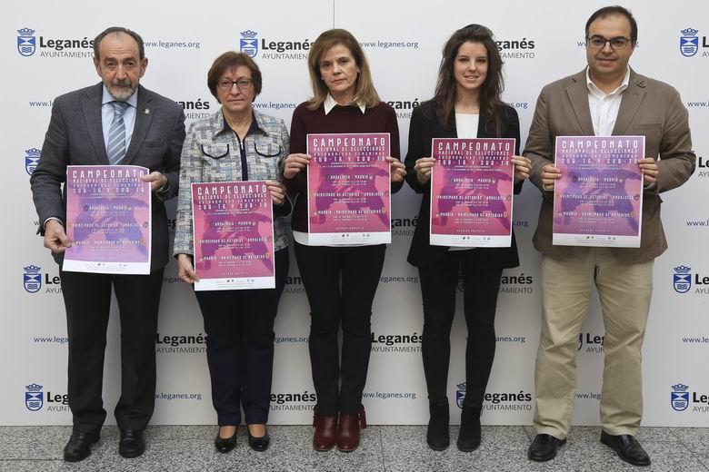 Leganés acogerá el Campeonato Nacional de Selecciones Autonómicas Femeninas