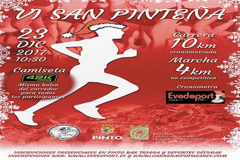 Sexta Edición de la Carrera Popular San Pinteña