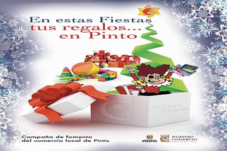 Campaña de apoyo e impulso al comercio local de Pinto en Navidad