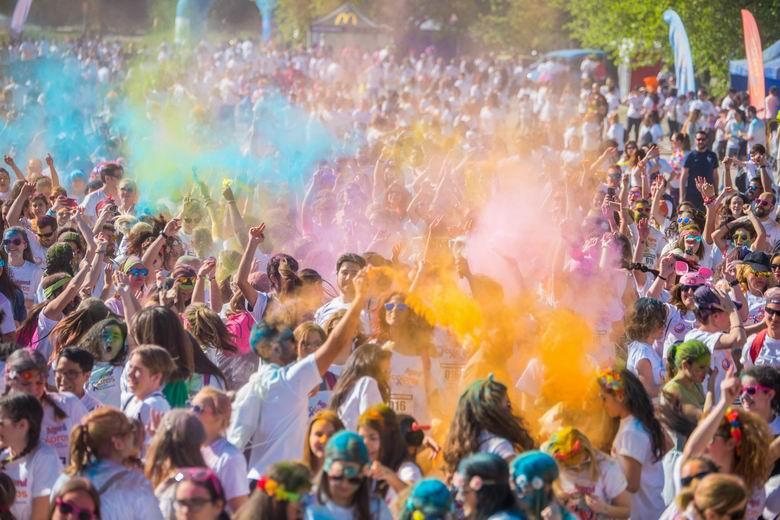 La carrera de colores 'FestiRun Móstoles' se celebrará el 16 de septiembre con motivo de las Fiestas Patronales