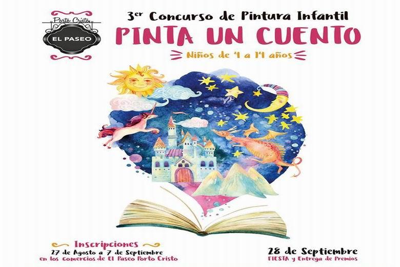 """La Asociación """"El Paseo"""" de Porto Cristo Posterior convoca el III Concurso de Pintura Infantil en Alcorcón"""