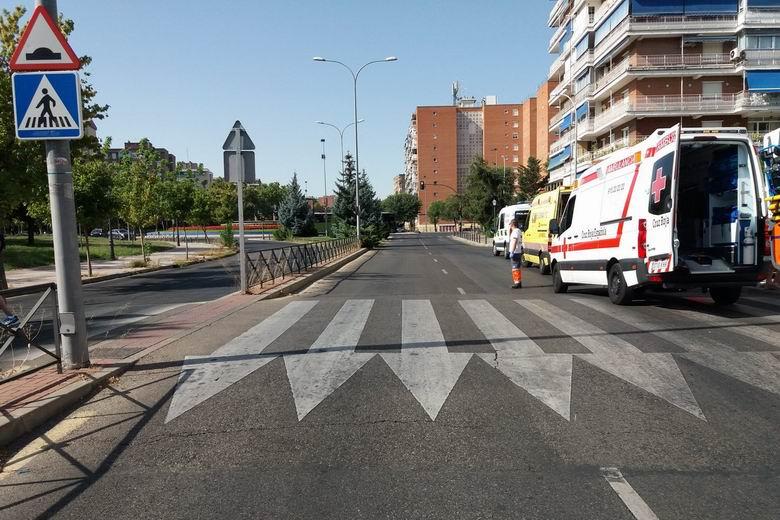 La Polícia Local de Alcorcón busca al autor del atropello a una mujer en la Avenida Alcalde J. Aranda del municipio