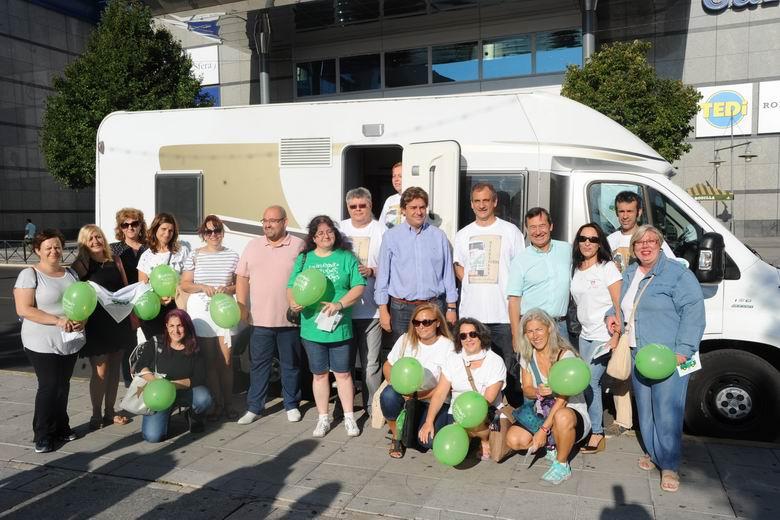 Arranca en Fuenlabrada la Caravana Verde por la Educaciónen la Comunidad de Madrid