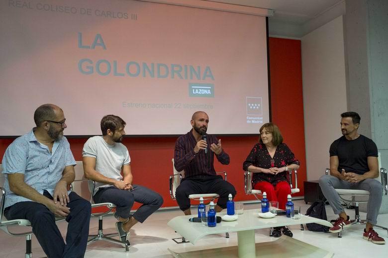 Carmen Maura estrenará La golondrina en el Real Coliseo de Carlos III de la Comunidad de Madrid