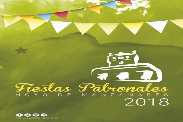 Programación completa de las Fiestas Patronales de Hoyo de Manzanares 2018