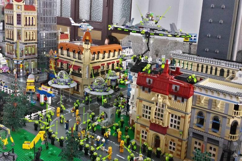 300.000 piezas 'lego' recrearán en Alcobendas escenas de 38 películas dentro de la exposición 'Construcciones de LEGO y el Cine'