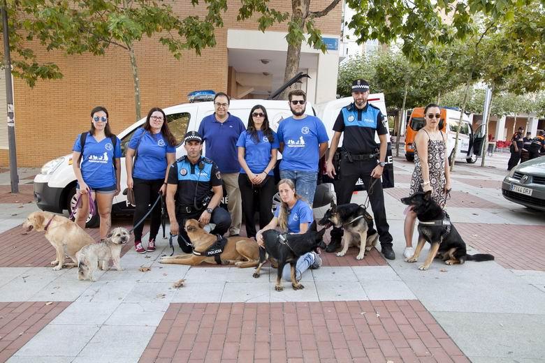 La perra Kira refuerza la gran labor que realiza la Unidad Canina de Policía Local en Leganés