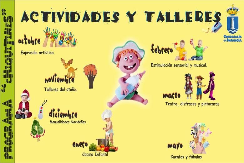 """Arranca en Humanes el programa """"Chiquitines"""" con actividades para niños menores de 3 años"""