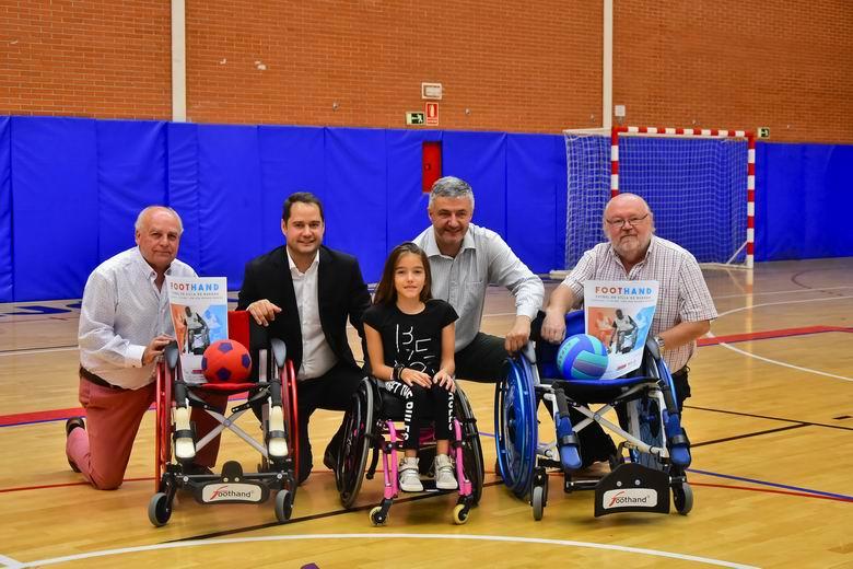 El próximo domingo Torrejón acogerá un partido de exhibición de Fútbol en Silla de Ruedas de la iniciativa Foothand