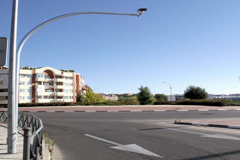 Cámaras 'OCR' controlarán las entradas y salidas del polígono industrialy del Parque Empresarial Valdelacasa de Alcobendas