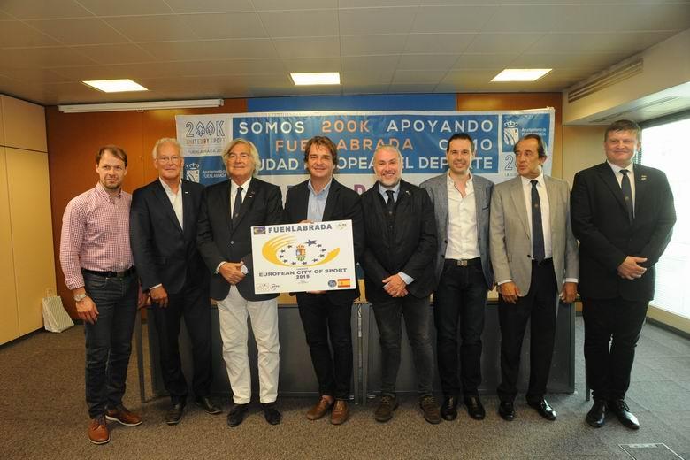 Fuenlabrada ha pasado la nota de corte para ser Ciudad Europea del Deporte