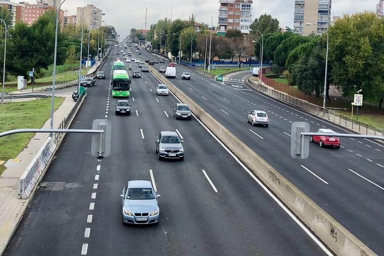 El Ayuntamiento de Madrid activará el viernes el nuevo radar de la A-5 en el Paseo de Extremadura