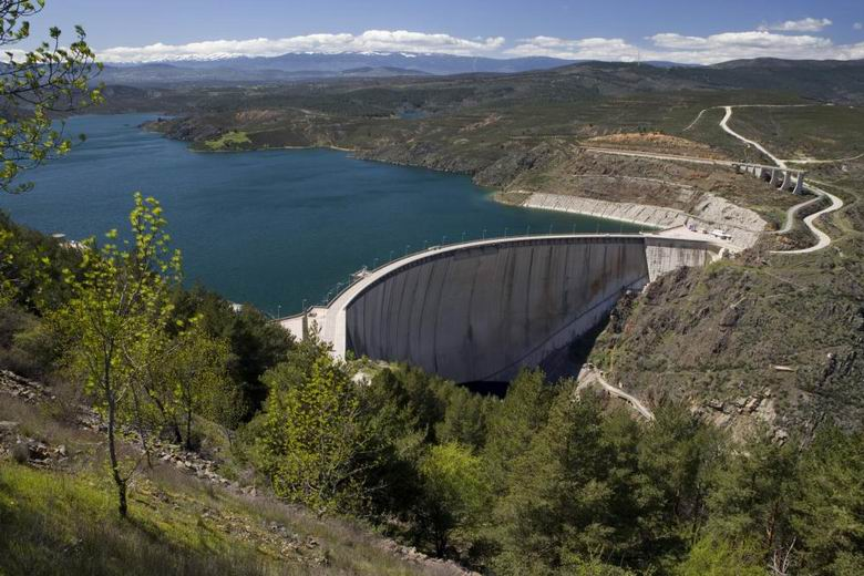 La borrasca Filomena dejará 70 hectómetros cúbicos de agua en los embalses de la Comunidad