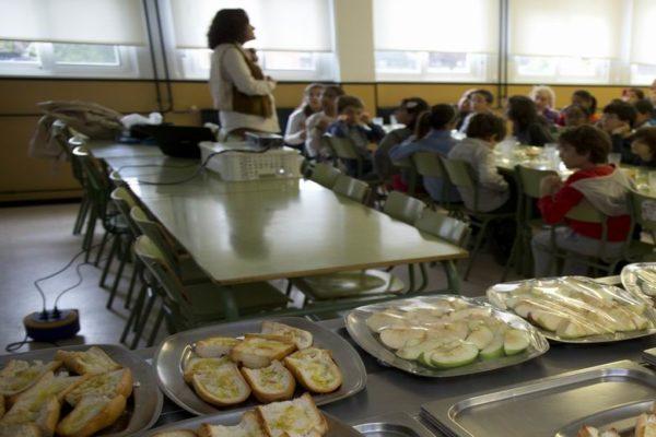 escolares pozuelo desayuno