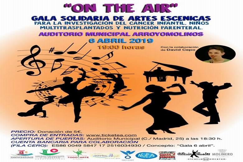 """Artes escénicas y solidaridad en Arroyomolinos con el espectáculo """"On the Air"""""""