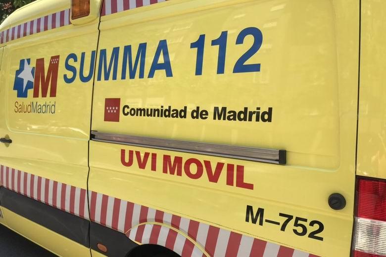Herida grave una motorista tras un accidente de tráfico en la M-316 a la altura de Chinchón