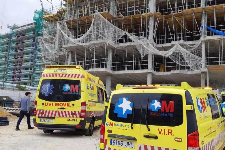 Los accidentes laborales en centros de trabajo de la Comunidad de Madrid descienden un 26,5% en los cinco primeros meses del año