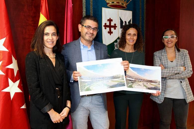 El Ayuntamiento de Alcobendas y Heron City Diversia impulsan un acceso al centro de ocio más acogedor y agradable