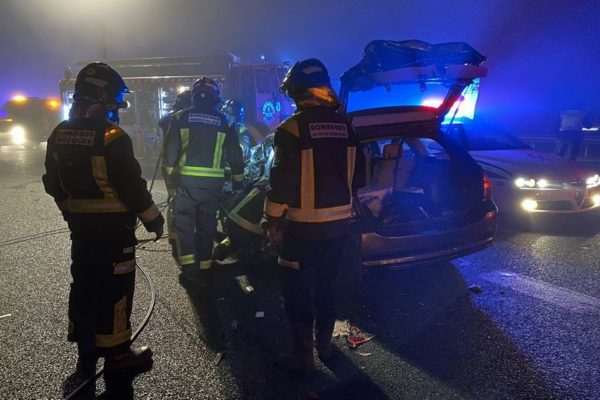 accidente un muerto a5 mostoles