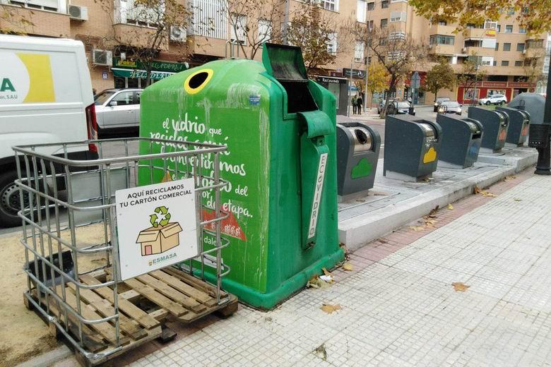 ESMASA Alcorcón mejora el reciclaje de papel y cartón en un 25,35% durante los 5 primeros meses de 2020 respecto a 2019