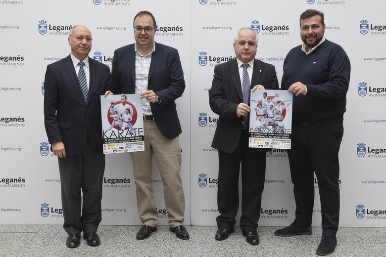 Leganés acoge el Campeonato de España de Kárate este fin de semana, última gran competición para Sandra Sánchez y Damián Quintero antes de los Juegos Olímpicos