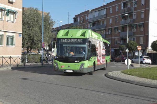 autobus leganes