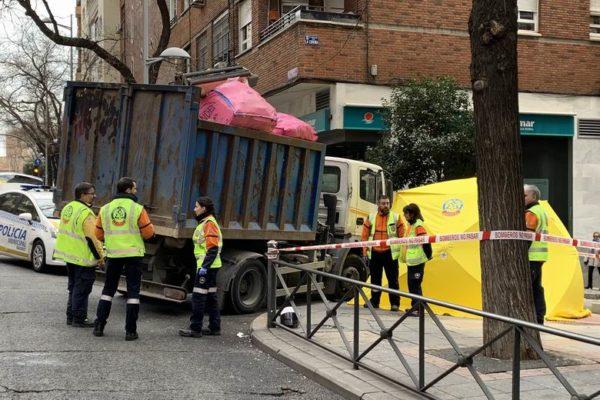 bravo murillo accidente moto camion motorias fallecido 22 años 01