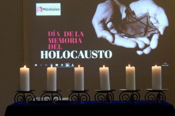 homenaje victimas holocausto mostoles