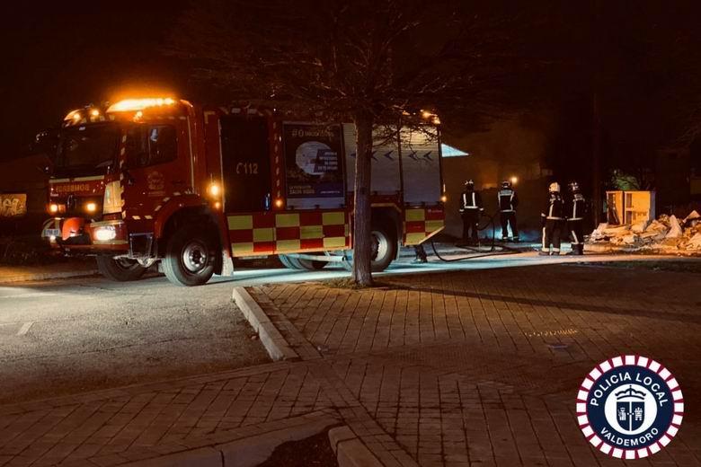Dos incendios y dos reyertas en las ultimas 48 horas en Valdemoro