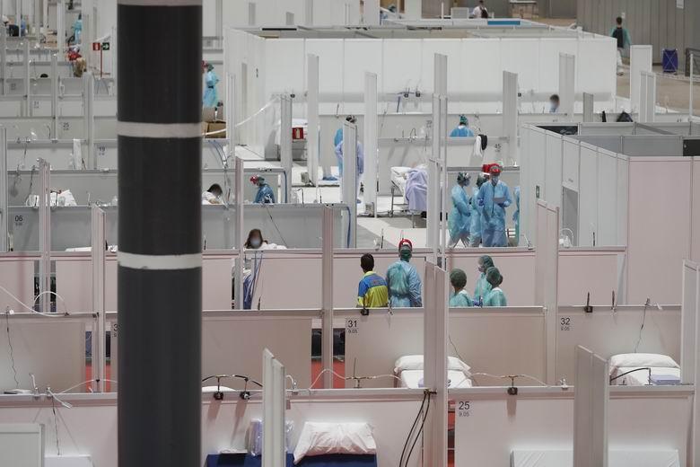 La Comunidad de Madrid aprueba 2,4 millones para el almacenaje y logística del material del Hospital de IFEMA