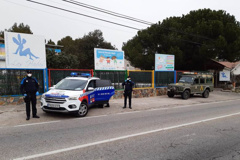 Primera detención en Galapagar por el incumplimiento de las medidas del Estado de Alarma por la crisis del coronavirus