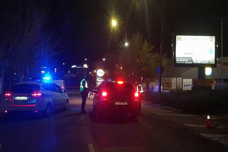 Dos detenidos en Móstoles tras una persecución por robar en un establecimiento en pleno Estado de Alarma por el coronavirus