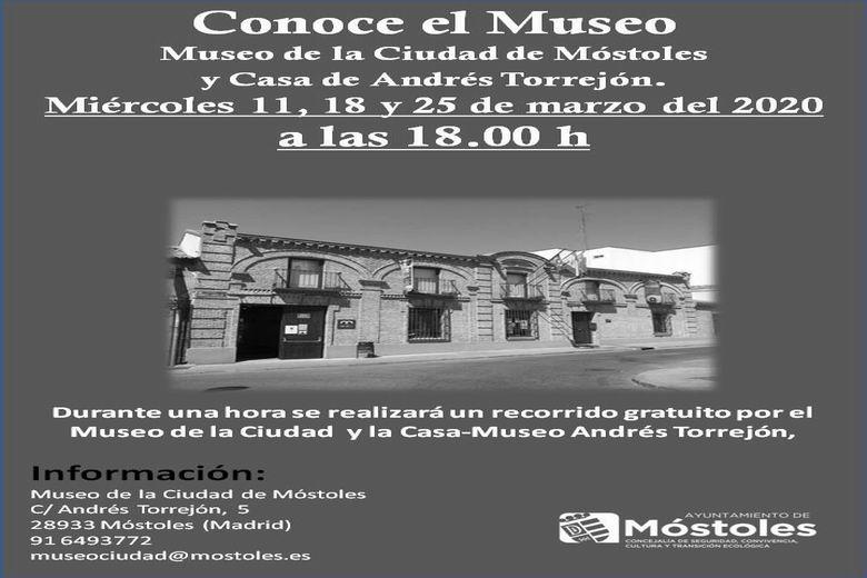 Móstoles organiza visitas guiadas y gratuitas al Museo de la Ciudad y a la Casa Museo Andrés Torrejón
