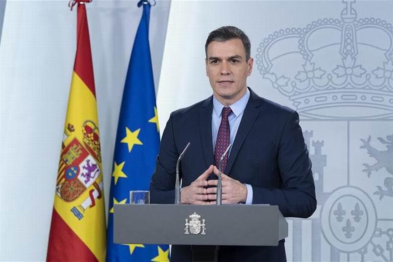 Sánchez anuncia que los niños podrán salir a la calle a partir del 27 de abril aunque el Estado de Alarma se prorrogará hasta el 9 de mayo