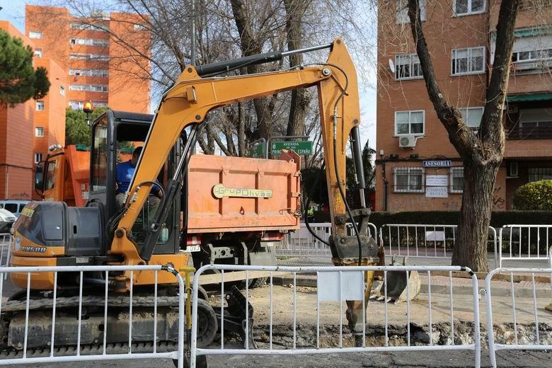 El Área de Vías y Obras del Ayuntamiento de Coslada atiende más de 500 avisos desde el establecimiento del Estado de Alarma