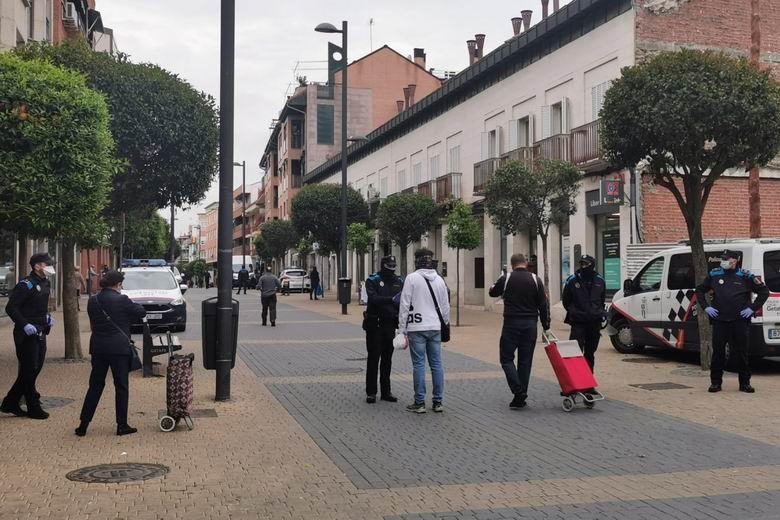 93 personas sancionadas en Getafe por no llevar mascarilla y 36 por realizar 'botellón' en el municipio