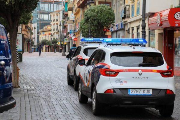 getafe policia local denuncias sanciones estado alarma niños calle