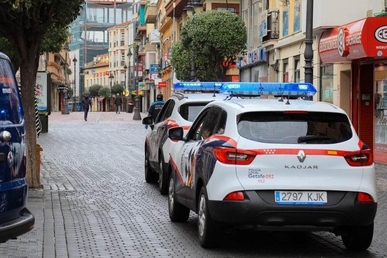 La Policía Local de Getafe realiza 13 denuncias en fiestas privadas y 15 por botellones en la última semana