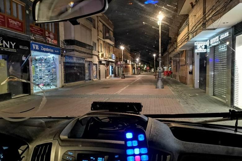 La alcaldesa de Getafe, Sara Hernández, felicita a la Policía Local y al Cuerpo Nacional de Policía tras la bajada de la criminalidad en la ciudad