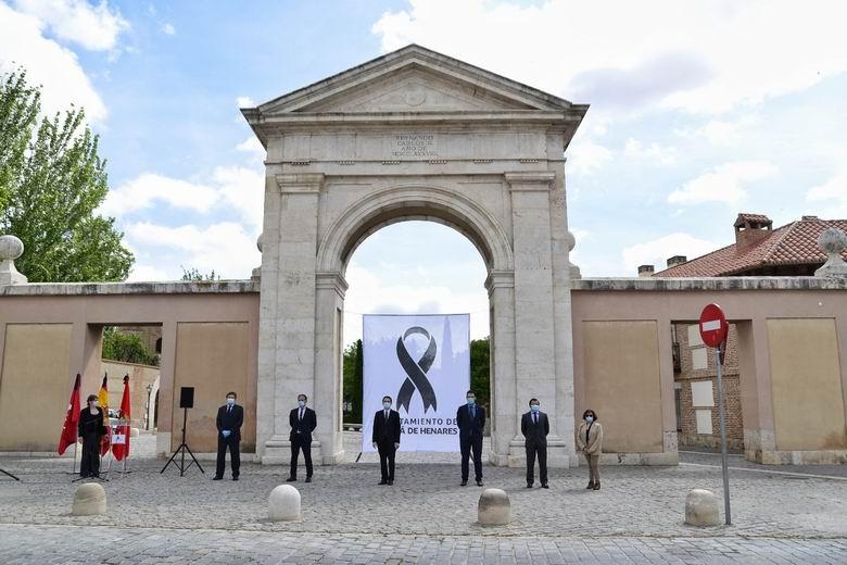 Alcalá de Henares celebra un acto en recuerdo y homenaje a las víctimas del COVID-19