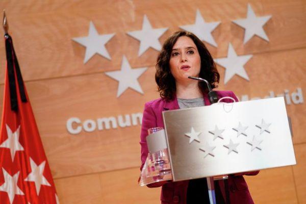 ayuso fase 1 recomendaciones comunidad madrid